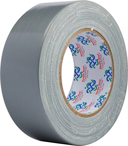 Double Bond Professional Grade Duct Tape 6351, Silver, 48mm x 32m (1.88 Inch x 35 Yards), 11mil Thick (Pack of 1)