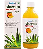Healthvit 100% Natural Aloevera Mango Juice - 500 ml