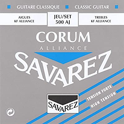 Savarez Corum Alliance 500AJ High Tension Classical Guitar Strings by Savarez Strings