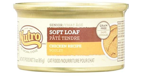 Nutro Natural Choice - Pollo suave para gatos de edad (24 x 3 oz ...