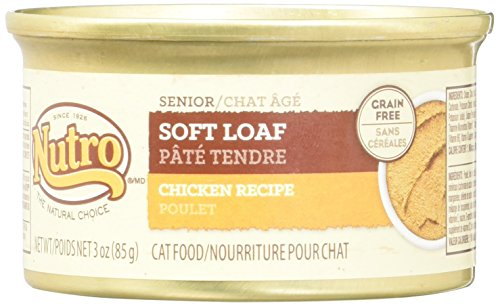 Nutro Natural Choice Soft Loaf Chicken - Senior Cat