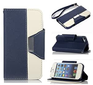 iPhone 4S. Case,iPhone 4S. Wallet Case,Wallet Leather Case stand with Credit ID Card slot Holder Cover Pouch For iPhone 4 4S