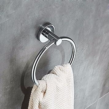 Olici MDRW-Badezimmer-Accessoires Handtuch Ring Edelstahlbad ...