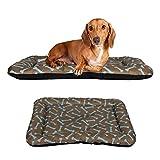 Dog Crate Pad Bolster Bed Pet Mat Waterproof - 24