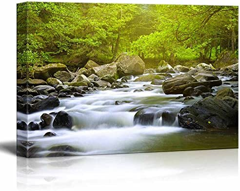 Mountain River in The Wood Home Deoration Wall Decor