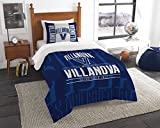 The Northwest Company Officially Licensed NCAA Villanova Wildcats Modern Take Twin Comforter and Sham