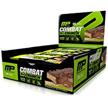 Musclepharm Combat Crunch Supplement, Chocolate Peanut Butter Cup, 2.22oz.- 12 Count