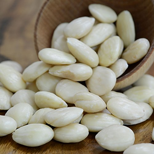 (Marcona Almonds, Blanched, Unsalted, Raw - 1 bag - 8 oz )
