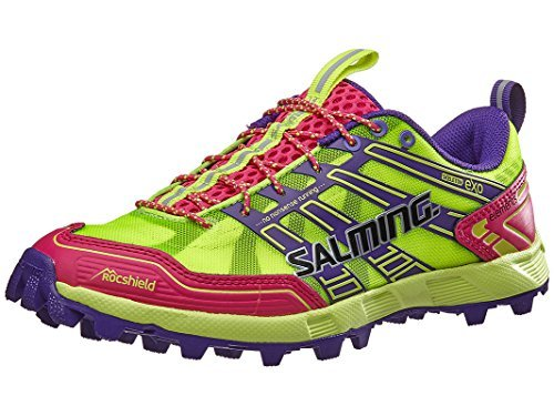 Salming Elements Pink/Yellow Running, Cross Training Womens Athletic Shoes Size 9.5 New