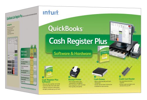 Intuit Cash Register Plus 2009 with Hardware (No PC) [OLD VERSION]
