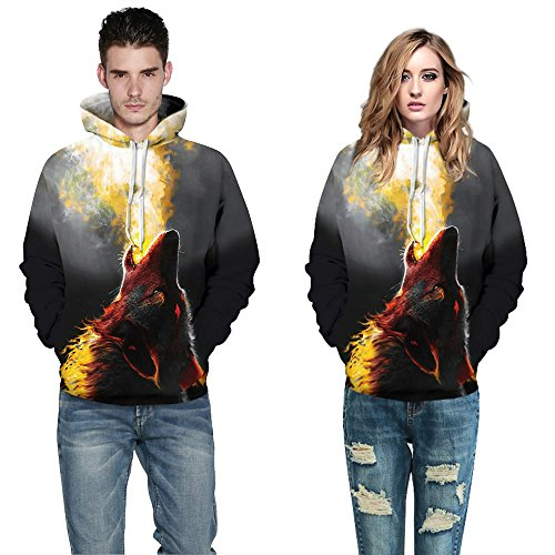 Homme Wolf Fire Homme Pull Amoma Amoma Pull Fire Wolf Pull Amoma 8OwZqWdv