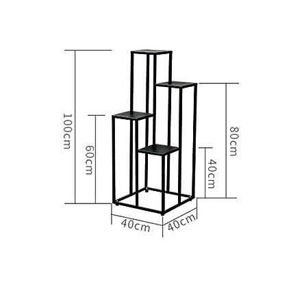 X-L-H Flower Stand, Soggiorno Balcone Moda Metallo Creativo American ...