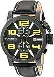 Haurex Italy Men's 3N506UYN TURBINA II Analog Display Quartz Black Watch