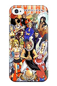 Hot Tpu Cover Case For Iphone/ 4/4s Case Cover Skin - Fairy Tail Cell Phone 3407094K31663766