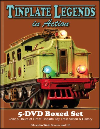 (Tinplate Legends In Action 5 DVD Boxed Set)