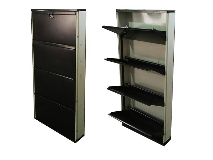Biyani Metal ShoeRack, Jumbo Shoe Rack 4 Shelves, Shoe Racks