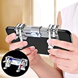 Awaqi Upgrated Mobile Game Controller 6 Points Fingers Triggers LB RB Multiple Points Operation Gaming Trigger Fire Aim Triggers Compatible with PUBG/Knives Out/Rules of Survival for Most of Phones Awaqi