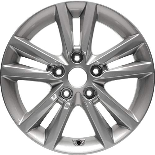 Partsynergy Replacement For New Replica Aluminum Alloy Wheel Rim 16 Inch Fits 15-17 Hyundai Sonata 5-115mm 10 Spokes