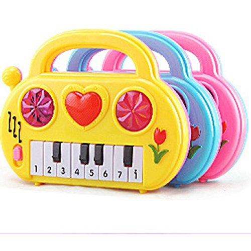 Lookatool Baby Electronic Organ Musical Instrument Birthday Present Kid Wisdom Deveop (Random Color) ()