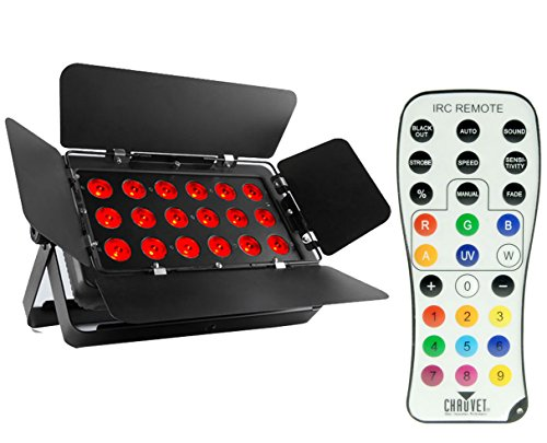 Chauvet SlimBANK T18 USB Slim Bank RGB Wash Light + IRC-6 Remote Control