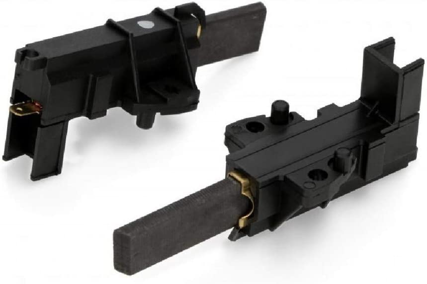 Par de escobillas de motor de carbón para lavadora Rex Electrolux Ariston Bosch Indesit