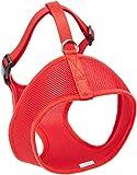Coastal Pet Products DCP6913MEDRED Nylon Comfort Soft Adjustable Dog Harness, Medium, Red