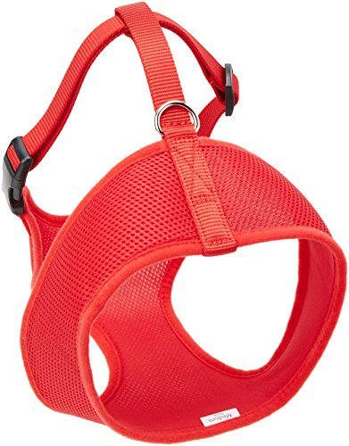 Coastal Pet Products DCP6913MEDRED Nylon Comfort Soft Adjustable Dog Harness, Medium, Red