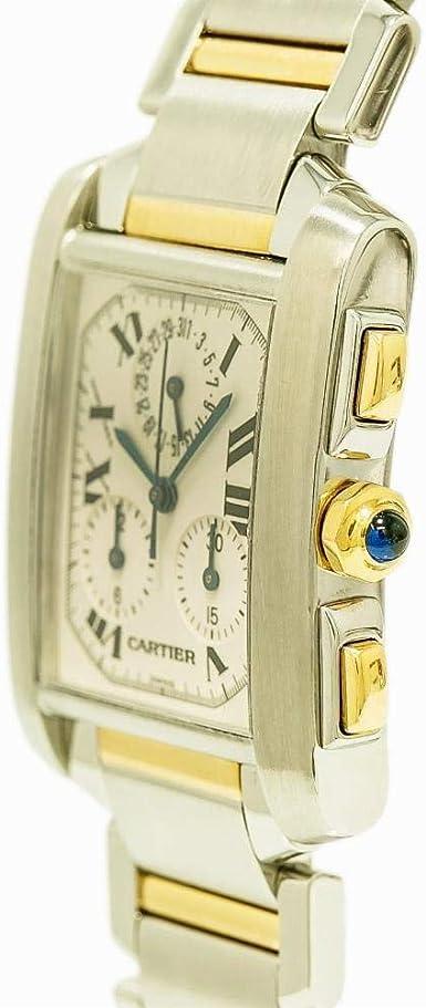 Cartier Tank Francaise Montre à quartz Homme 2303 (certifié