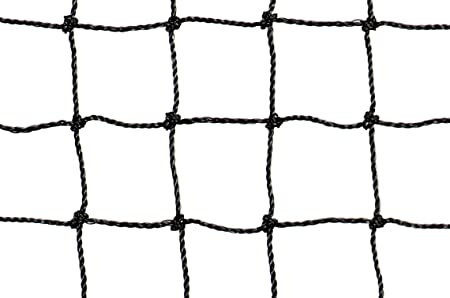 """25/' x 100/' Heavy Knotted Aviary 2/"""" Poultry Net Netting"""