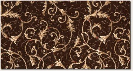 Couristan 5736/3767 Everest Soraya Area Rugs, 9-Feet 2-Inch by 12-Feet 5-Inch, Chocolate (Couristan Chocolate)