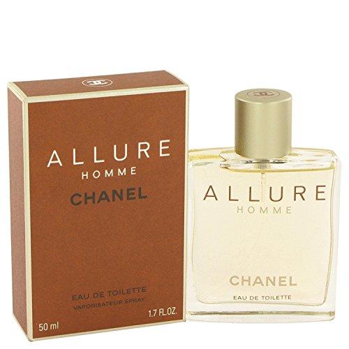 Chänel Allüre Colognë For Men 1.7 oz Eau De Toilette Spray + FREE Shower Gel (Chanel Allure For Men)