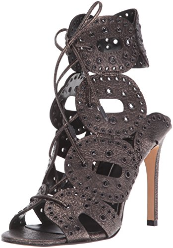 Dolce Vita Womens Haylie Dress Sandal Gunmetal