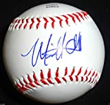 MIKE OLT SIGNED OL BASEBALL TEXAS RANGERS CHICAGO CUBS FUTURES PROOF MICHAEL J8