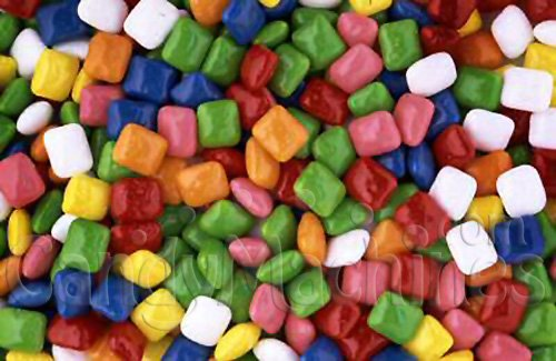 Gum By The Pound - 1 Pound Bag of Tabbylets Mini Chewing Gum Tabs