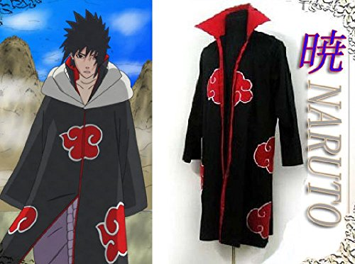Uchiha Costume Halloween Madara (Naruto Cosplay Akatsuki Ninja Costume Orochimaru Uchiha Sasuke Itachi)
