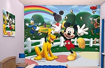 Walltastic Disney, Mickey Mouse Clubhouse, Tapete, Wandbild, Paper, bunt,  52.5 x 7 x 18.5 cm