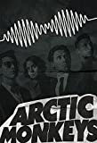 Arctic Monkeys AM Illustration Album Art Print Band Poster Giclee on Cotton Canvas and Paper Canvas Grunge Wall Decor