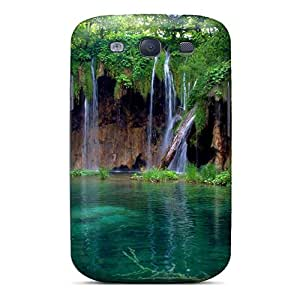 Protective Tpu Case With Fashion Design For Galaxy S3 (relaxing Cove)