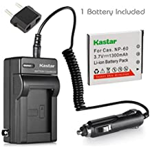 Kastar Battery and Charger for Casio Exilim EX-S10 EX-S10BE EX-S10BK EX-S10RD EX-S10SR EX-Z9 EX-Z9BK EX-Z9EO EX-Z9PK EX-Z9SR EX-Z85 EX-Z85BN EX-Z85EO EX-Z80 EX-Z80VP EX-FS10 EX-Z29 EX-S12 Cameras