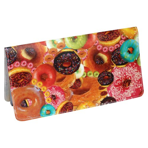 Donut Secret Collage Checkbook Cover