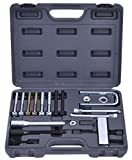 K&A Company Steering Wheel Puller & Lock Plate Compressor Set Mechanic Installer Remover Kit Carry Case