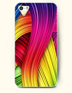 iPhone 5/5S Case, SevenArc Phone Cover Series for Apple iPhone 5 5S Case (DOESN'T FIT iPhone 5C)-- Colorful Ribbon...