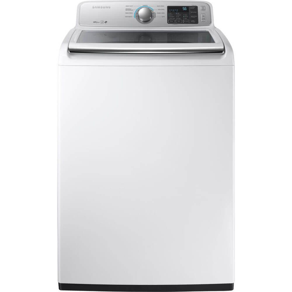 Samsung White Top Load Washer by Samsung