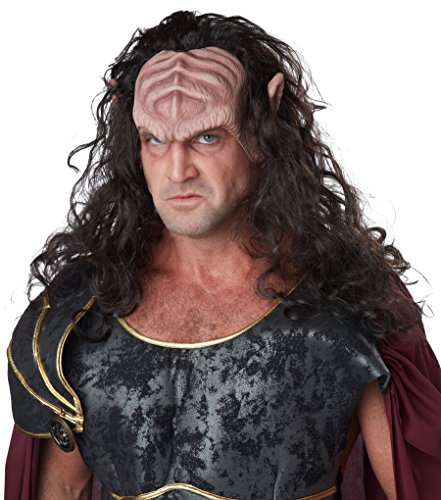 California Costumes Men's Deep Space Warlord, Dark Brown/Flesh, One (Funny Space Costumes)