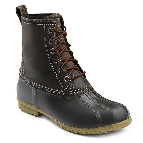 G H  Bass   Co  Mens Dixon Boot Chocolate Brown Leather Us 10 M