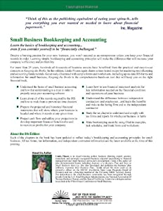 Keeping the Books: Basic Recordkeeping and Accounting for Small Business (Small Business Strategies Series) by Out Of Your Mind . . . And Into The Mark