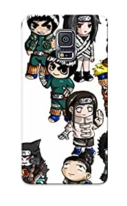 Galaxy S5 Case Cover Cartoon Network Name Chibi Naruto Case - Eco-friendly Packaging