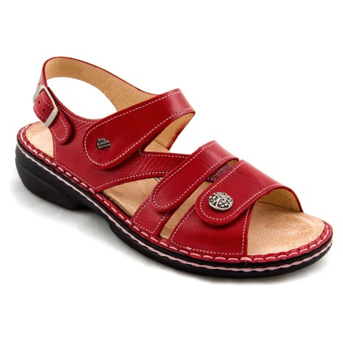 Finn Comfort Women's Gomera - 82562 Sandal Red Light outlet view cheap sale Manchester factory outlet for sale CbfBBgffK