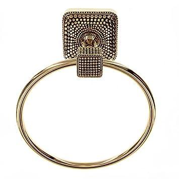 Antique Copper Vicenza Designs TR9005 Tiziano Towel Ring