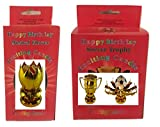 Birthday Candle Two Pack (Gold Soccer)